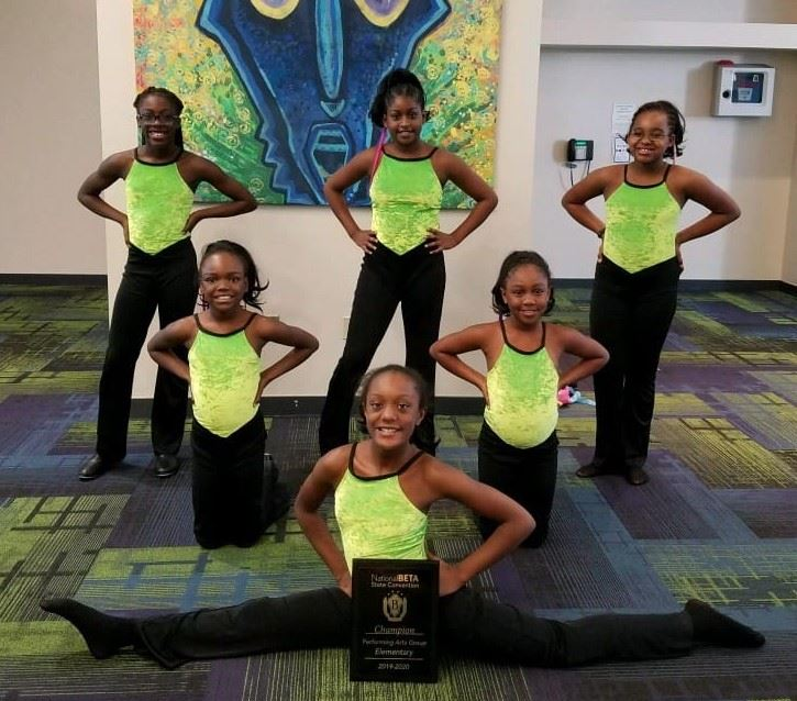 Carver Elem School Dancers--1st place GA Elementary Beta Club Convention