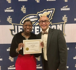 2019-2020 Jefferson Co Teacher of the Year, Tiara Tremble