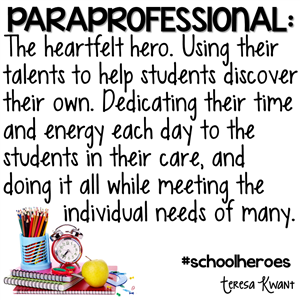 Paraprofessionals / Welcome